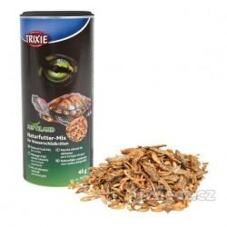 Přírodní mix krmiva pro vodní želvy 45 g/250 ml (ryby,ráčci)