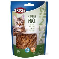 PREMIO Chicken Mice - kuřecí kousky ve tvaru myšek 50 g