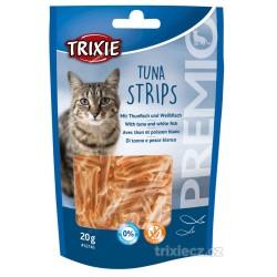 PREMIO Tuna Strips - pásky s tuňákem, 20g