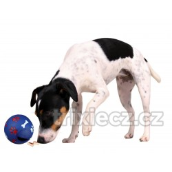 Míč na pamlsky pro středního psa 11 cm TRIXIE