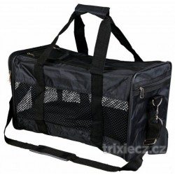 Nylonová přepravní taška RYAN 26×27×47cm, do 9kg, černá