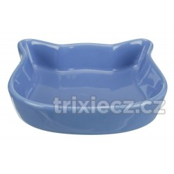 Keramická miska kočičí hlava, pastelové barvy 0,25 l/12 cm