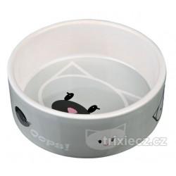 Keramická miska MIMI s kočičí hlavou 0,3l/12 cm