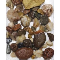Písek akvarijní č.8 hnědý - hrubý, 3kg