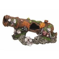 Nobby akvarijní dekorace dělo 24 x 11,5 x 11,5 cm