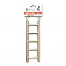 Žebřík dřevěný 5 stupňů, 22cm