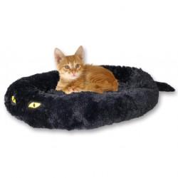 Poduška Cat in Black