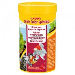 sera goldy color spirulina Nature 250 ml